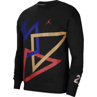 JORDAN SPORT DNA HBR FLEECE CREW