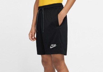 NIKE GIANNIS 'FREAK' SHORTS BLACK