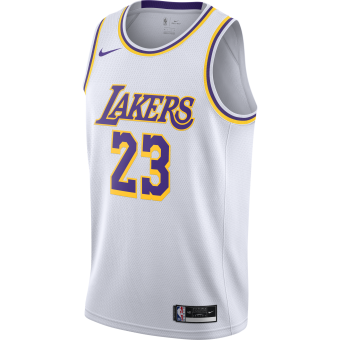 NIKE NBA LOS ANGELES LAKERS ASSOCIATION EDITION SWINGMAN JERSEY