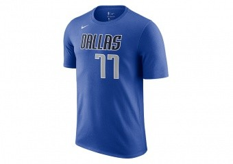 NIKE NBA DALLAS MAVERICKS LUKA DONČIĆ TEE GAME ROYAL