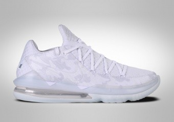 NIKE LEBRON 17 LOW WHITE CAMO