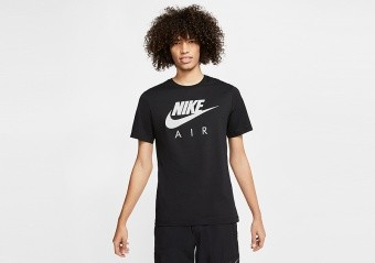 NIKE AIR FRANCHISE TEE BLACK