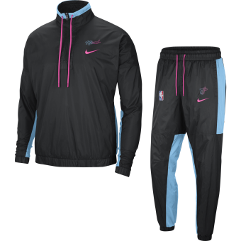 NIKE NBA MIAMI HEAT CITY EDITION COURTSIDE TRACKSUIT