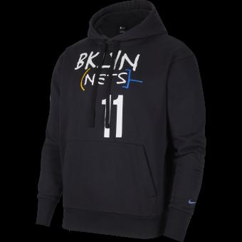 NIKE NBA BROOKLYN NETS CITY EDITION PULLOVER HOODIE