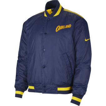 NIKE NBA GOLDEN STATE WARRIORS CITY EDITION COURTSIDE JACKET
