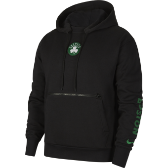 NIKE NBA BOSTON CELTICS COURTSIDE CITY EDITION PULLOVER HOODIE