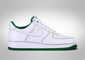 NIKE AIR FORCE 1 LOW '07 WHITE GREENLINE