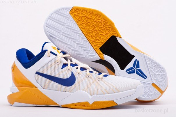 wholesale dealer 1c9be 7b7a5 NIKE ZOOM KOBE 7 VII SYSTEM L.A LAKERS HOME