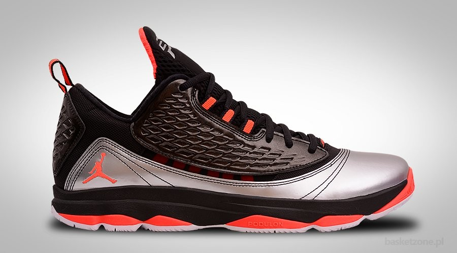 NIKE AIR JORDAN CP3.VI AE BLACK BRIGHT CRIMSON