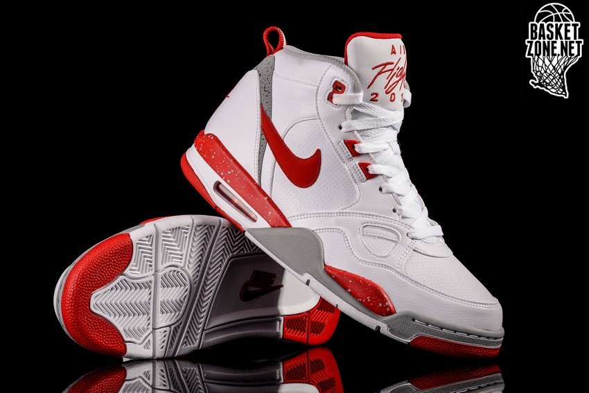 huge selection of cf736 677d7 ... get nike air flight 13 mid white university red silver 400fd 2a765