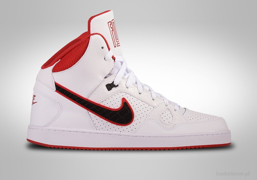 NIKE SON OF FORCE MID WHITE BLACK-GYM