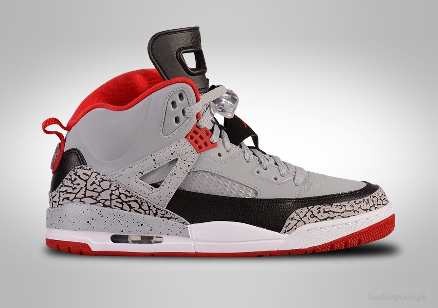 new products c19d2 b3f18 NIKE AIR JORDAN SPIZIKE WOLF GREY GYM RED CEMENT. 315371-003