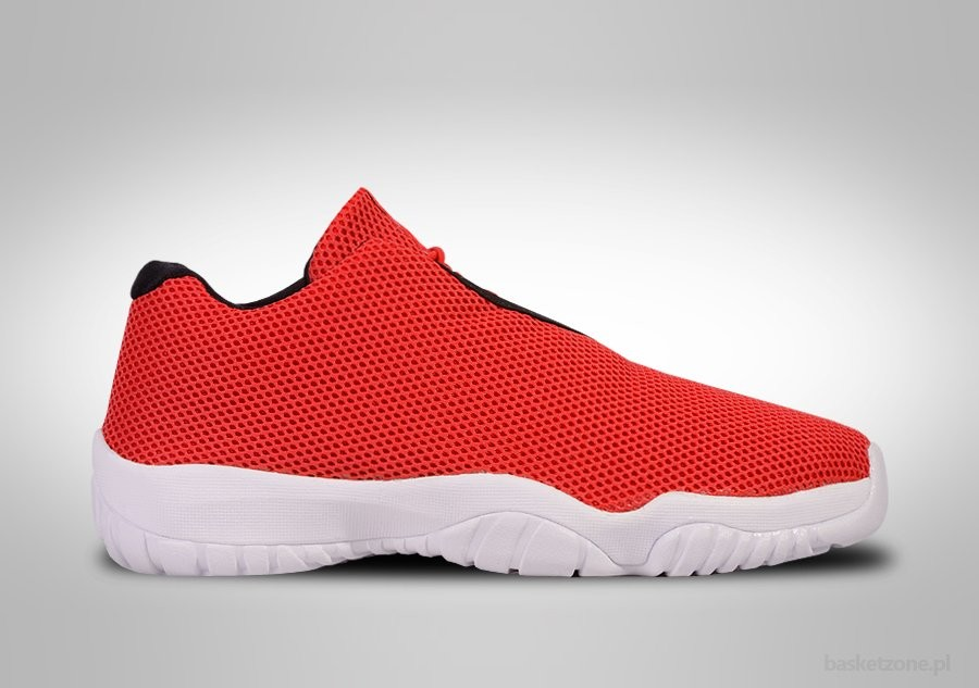 NIKE AIR JORDAN FUTURE LOW RED WHITE