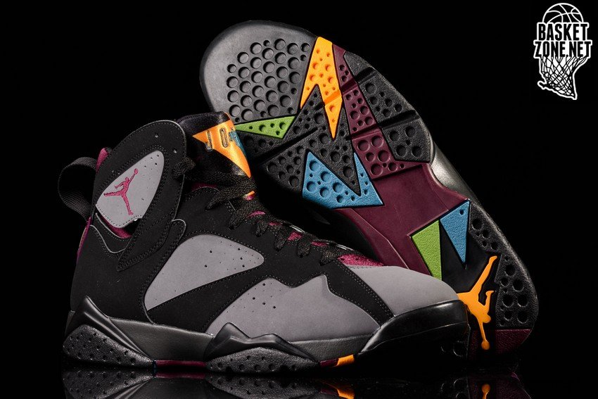 cheap for discount bbd5d 37c0d NIKE AIR JORDAN 7 RETRO BORDEAUX
